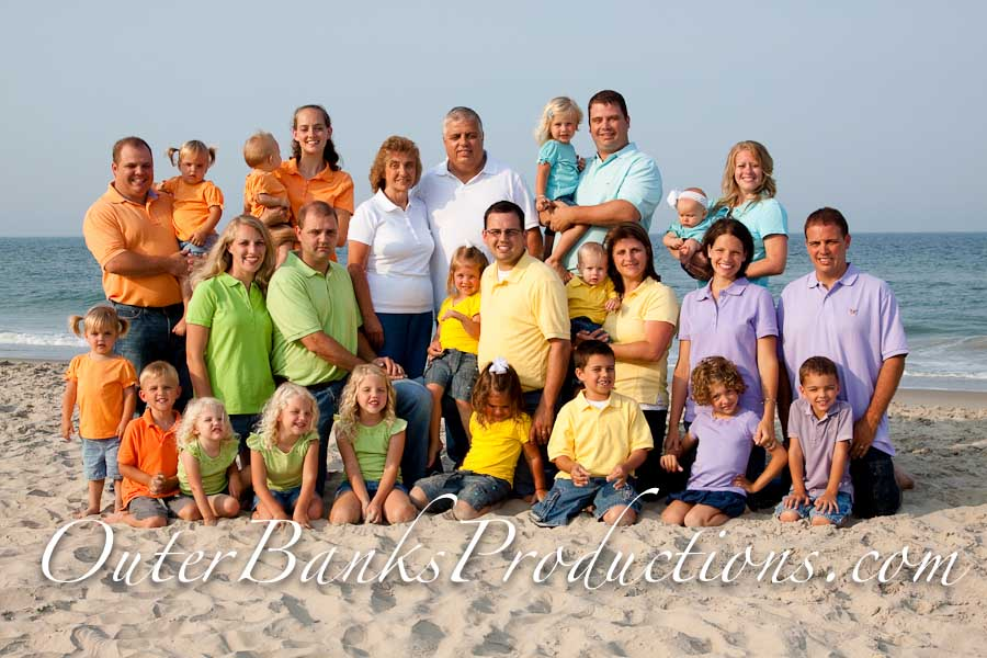 Outer Banks Family Beach Portraits What To Wear Outer Banks