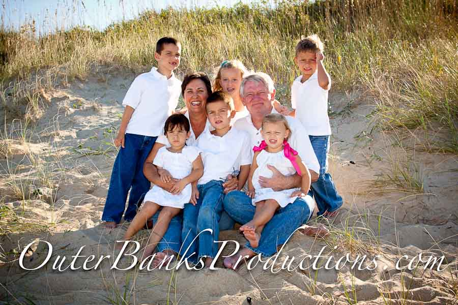 Simple family portrait photo.